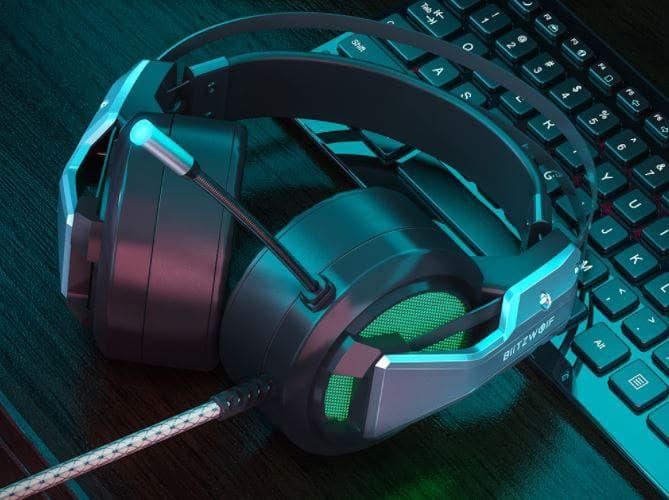 BlitzWolf BW-GH1 Cuffie da Gaming con LED RGB | Banggood