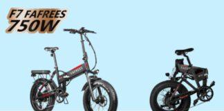 codice sconto fafrees f7 plus offerta coupon bici elettrica