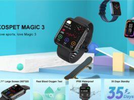 codice sconto kospet magic 3 offerta coupon smartwatch economico