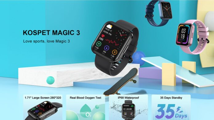 codice sconto kospet magic 3 offerta coupon smartwatch economico