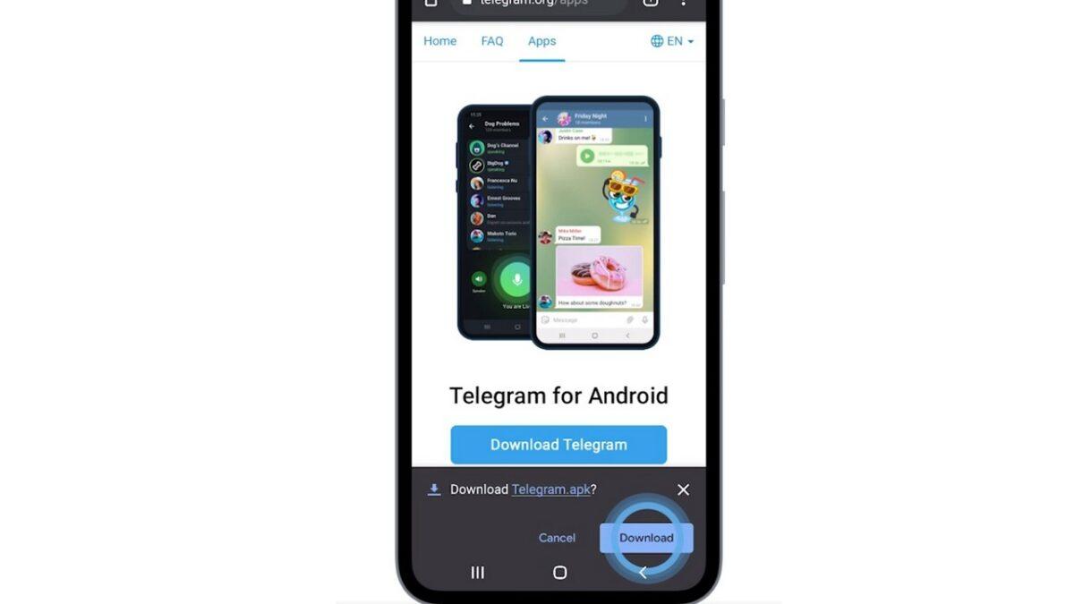 come scaricare installare telegram senza play store