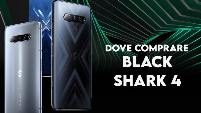 dove comprare black shark 4 italia coupon