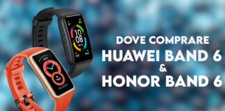 dove comprare huawei honor band 6