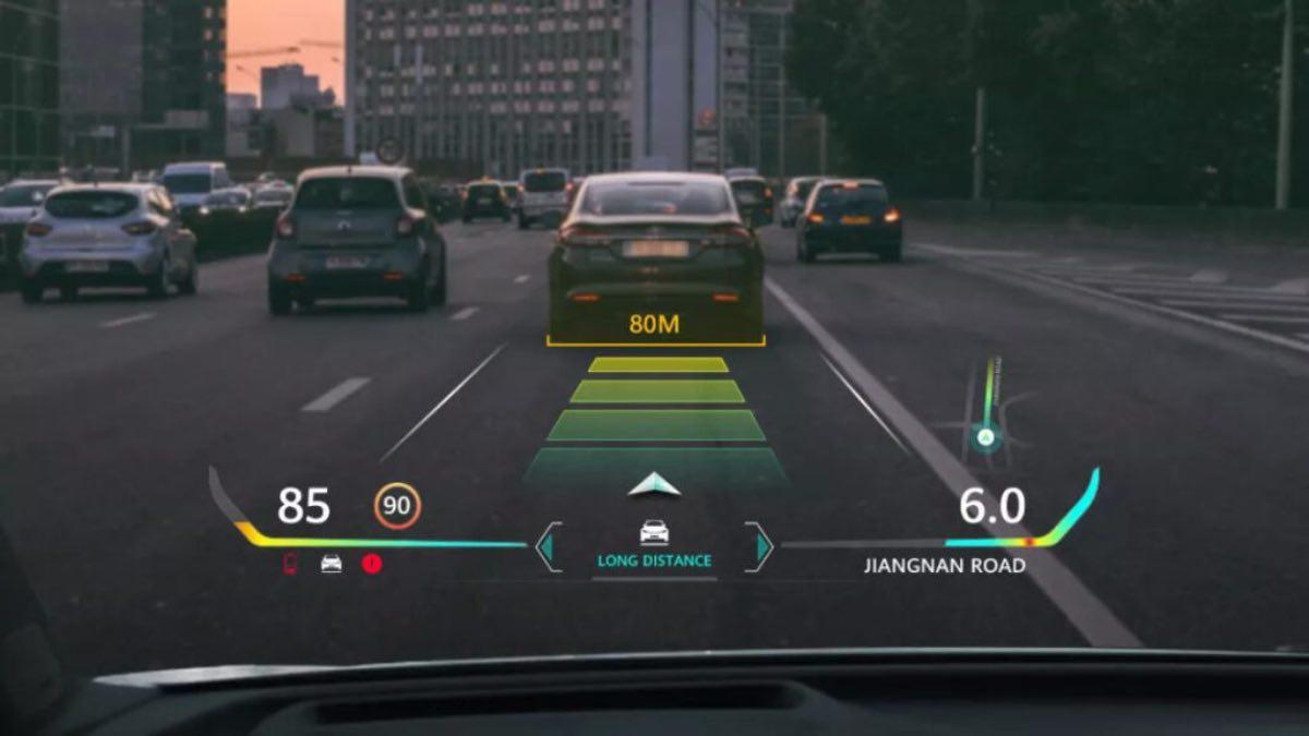 huawei auto guida smart AR HUD