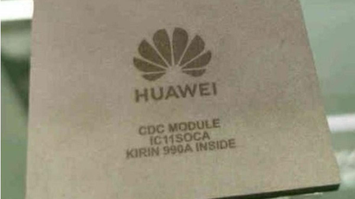 huawei chipset tecnologia auto kirin 990A
