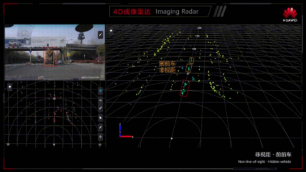 huawei radar imaging 4D guida autonoma