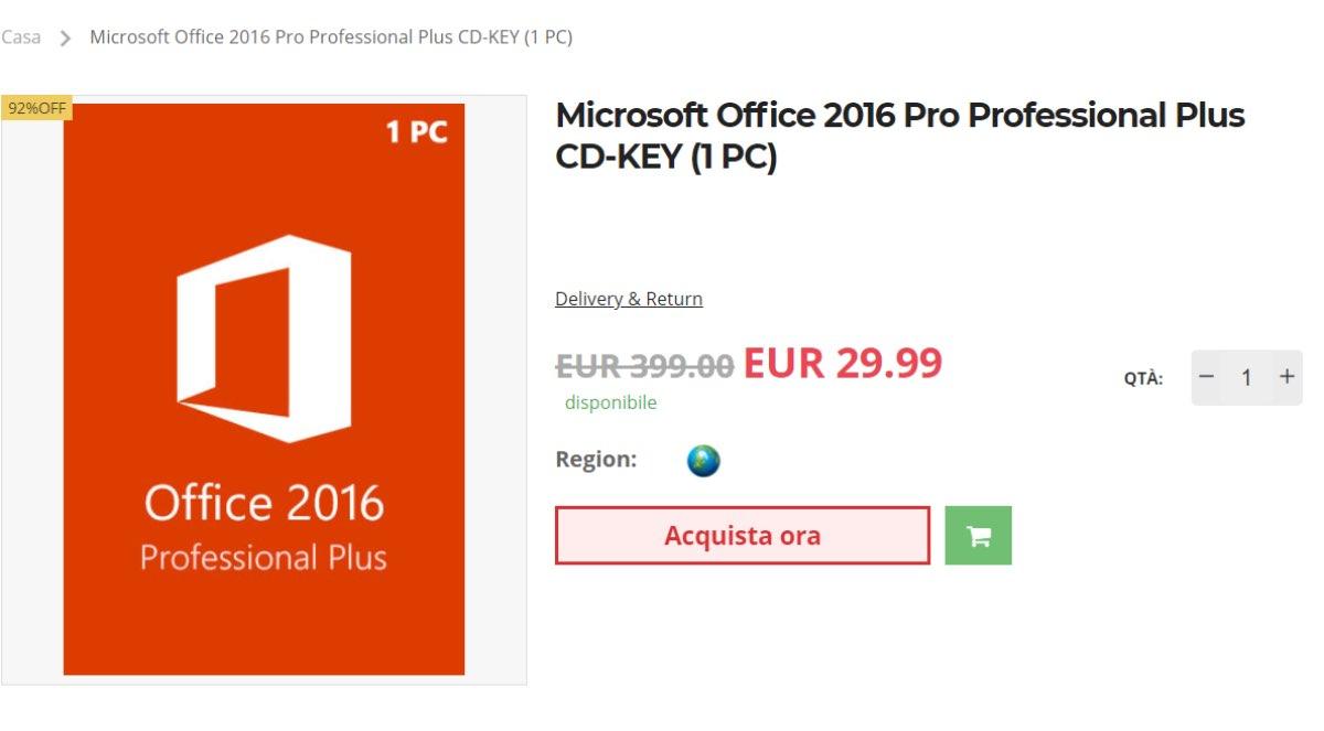 licenze windows 10 office offerte coupon codice sconto key aprile 2021 2