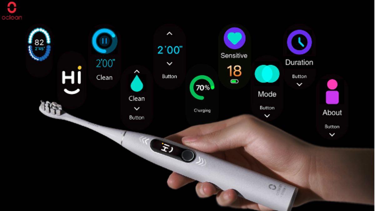 oclean x pro elite sistema operativo os spazzolino elettrico 2