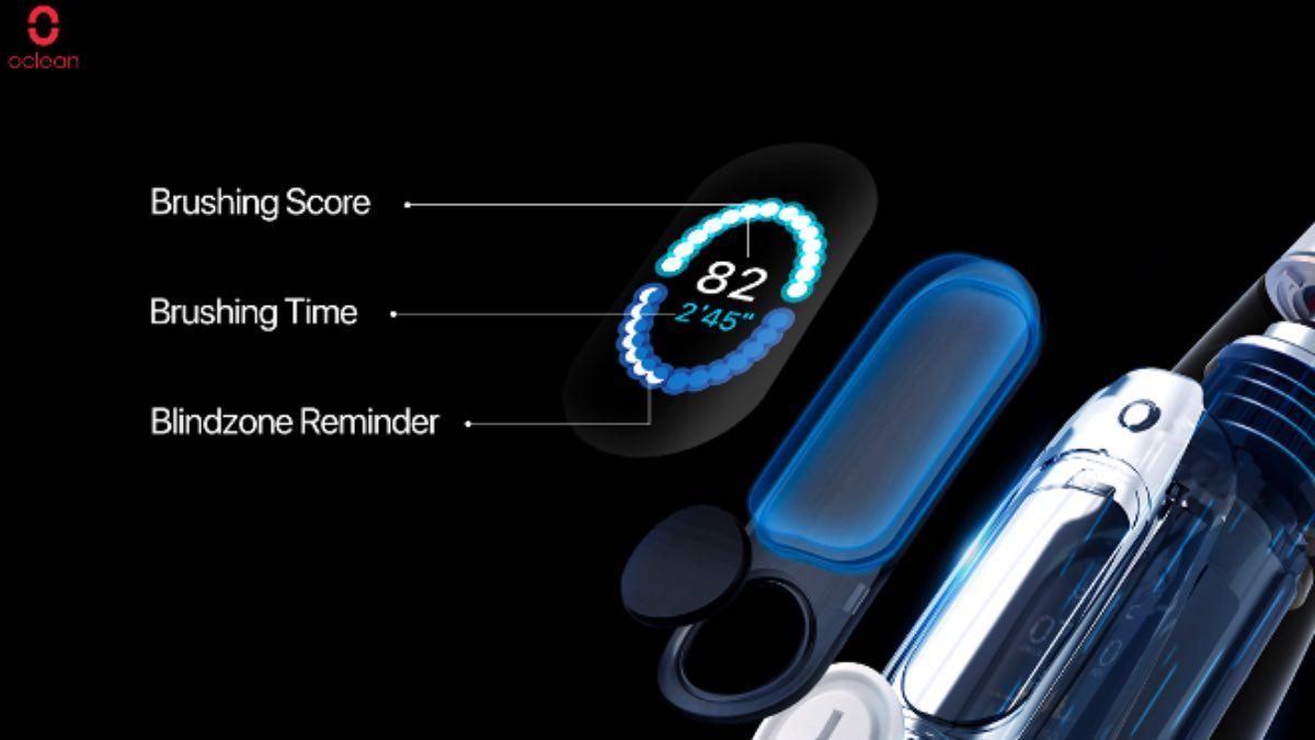 oclean x pro elite sistema operativo os spazzolino elettrico 3