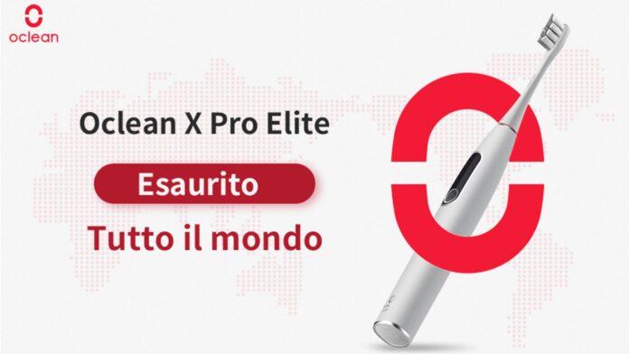 oclean x pro elite sold out vendite pre-ordine 2