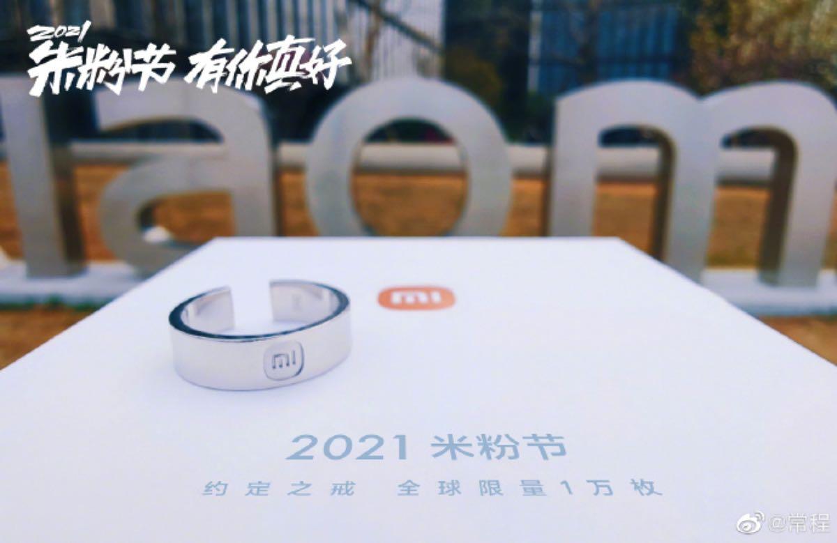 xiaomi anello edizione limitata mi fan festival 2021 3