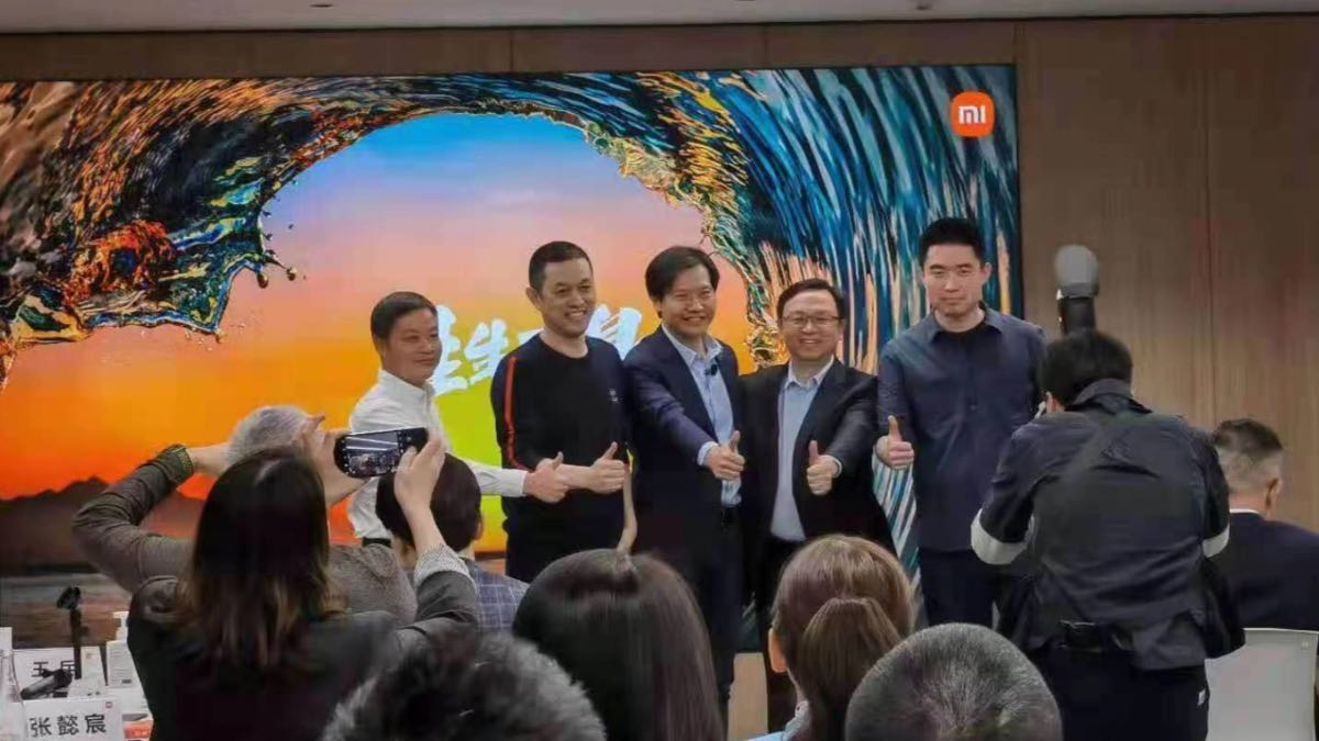 xiaomi auto elettrica Lei Jun progetto ufficiale 23/4