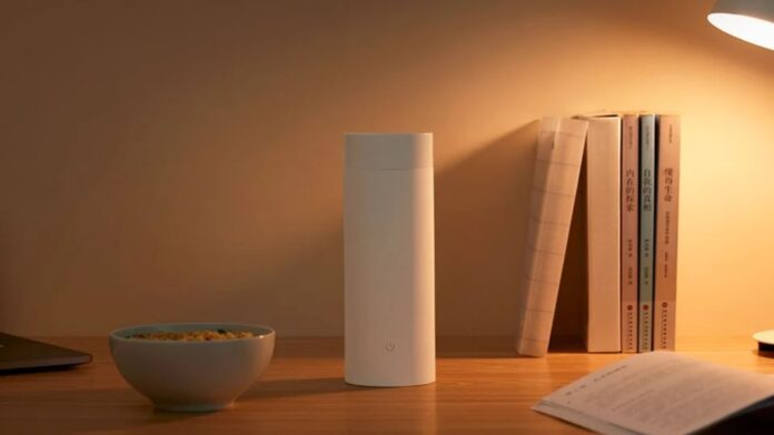 xiaomi mijia portable electric heating cup thermos bollitore prezzo
