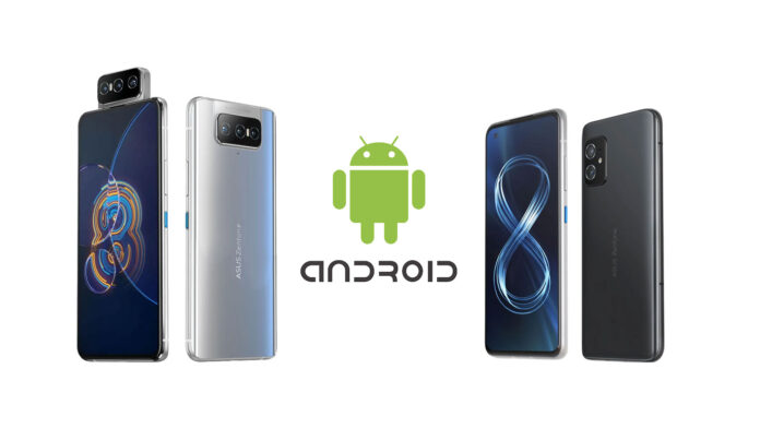 asus zenfone 8 zenfone 8 flip aggiornamenti android
