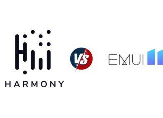 huawei harmonyos vs emui 11