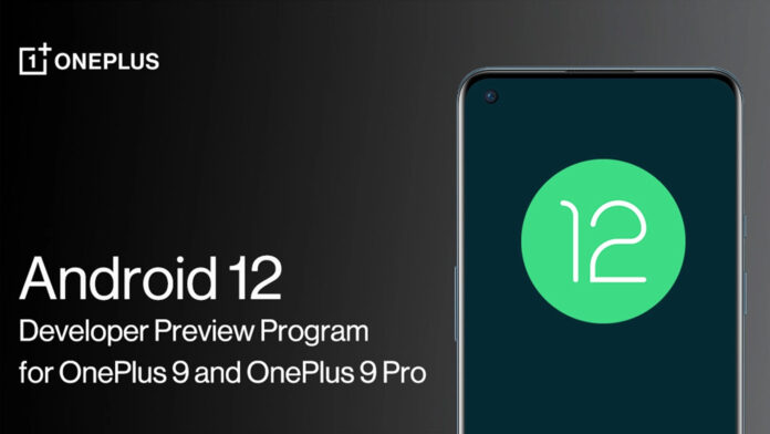 oneplus 9 pro android 12 beta