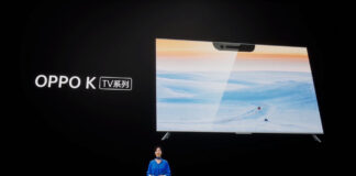 oppo k smart tv notch