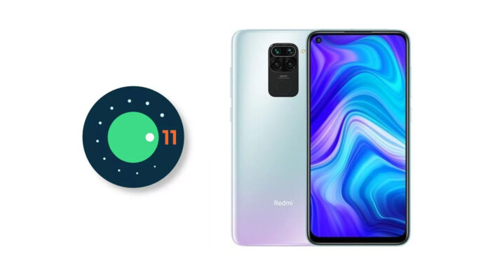 redmi note 9 android 11