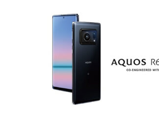 sharp aquos r6