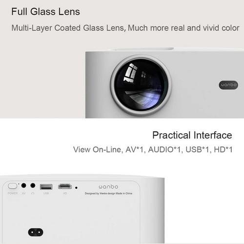xiaomi wanbo x1 proiettore smart