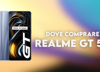 Dove comprare Realme GT 5G