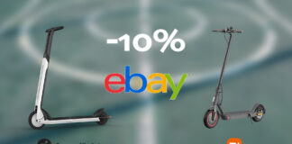 ebay coupon mobilità sport 2021 offerte monopattini xiaomi segway