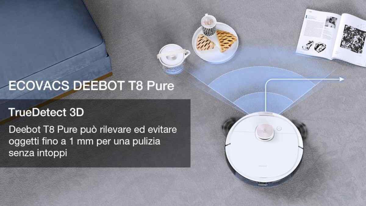ecovacs deebot ozmo920 ozmo t8 pure robot aspirapolvere offerta prezzo 2