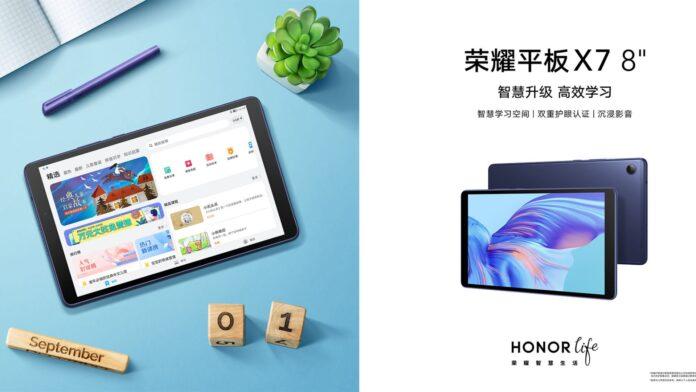 honor pad x7 tablet copertina