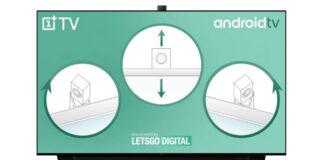oneplus smart tv brevetto fotocamera pop-up rotante