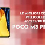 poco m3 pro 5g migliori cover pellicole accessori