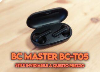 recensione bc master bc-t05 auricolari tws copertina