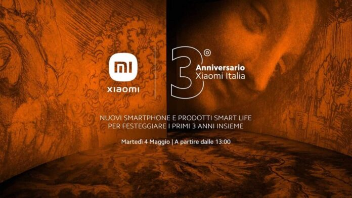 xiaomi come seguire evento 3 anni italia mi 11 ultra 11i redmi note 10s 10 5G smart band 6 tv p1