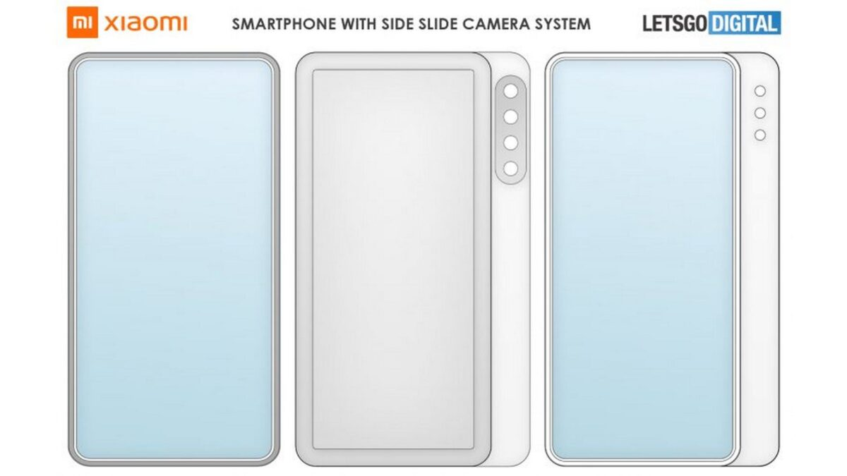 xiaomi smartphone dual slide