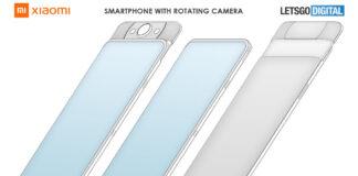 xiaomi smartphone fotocamera rotante immagini