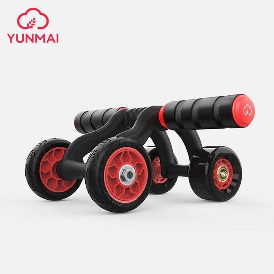 yunmai ab roller ruota per addominali