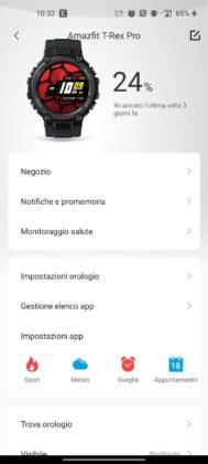 Zepp T-REX Pro