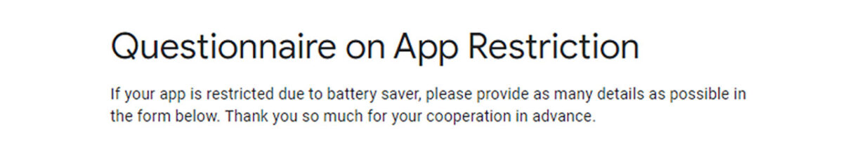 google app background