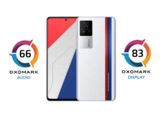 iqoo 7 dxomark display audio