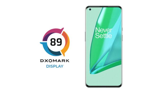 oneplus 9 pro dxomark display