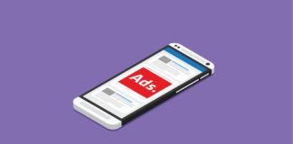 smartphone pubblicità