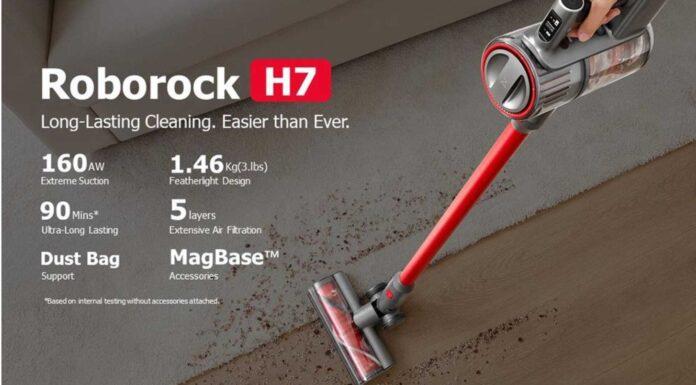 codice sconto roborock h7 offerta coupon aspirapolvere senza fili