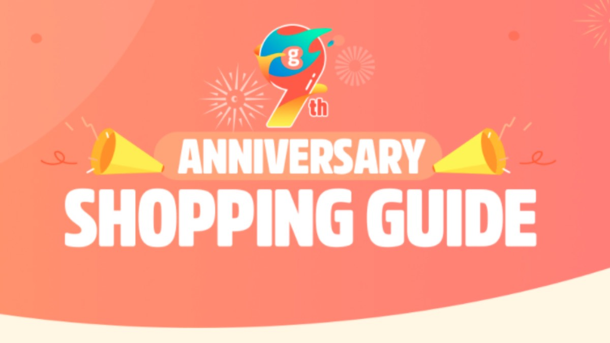 compleanno geekbuying 9 anni offerte codici sconto coupon