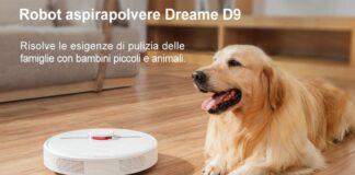 dreame d9 robot aspirapolvere lavapavimenti offerta amazon codice sconto