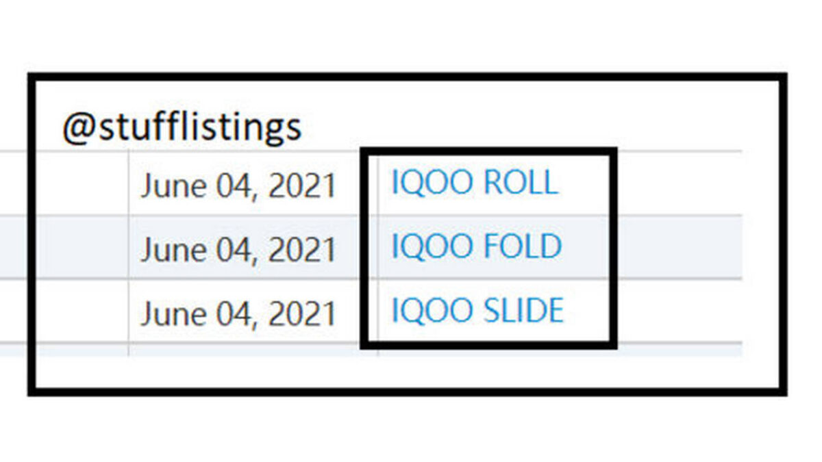 iqoo fold roll slide