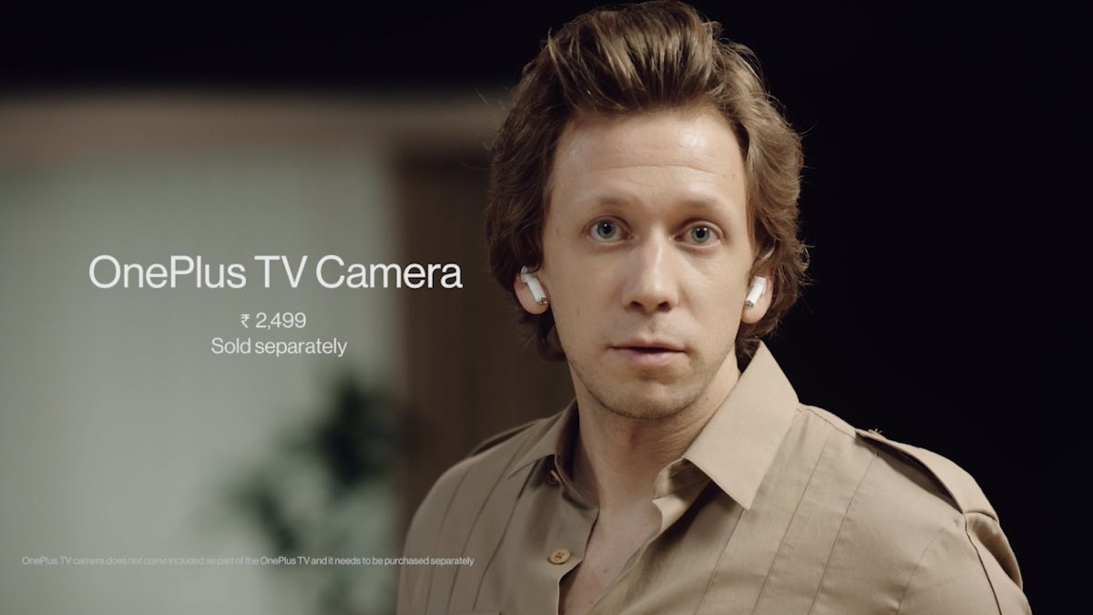 oneplus webcam smart tv camera caratteristiche prezzo 10/6
