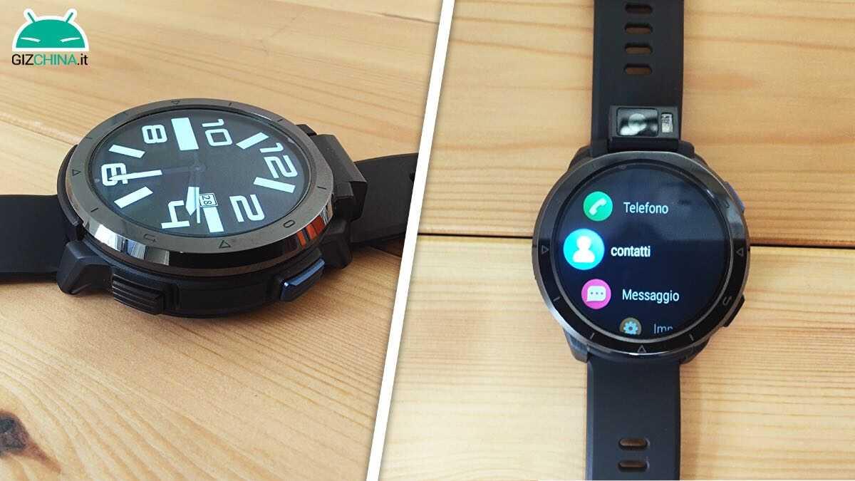 recensione kospet optimus 2 telefono smartwatch 3