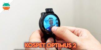 recensione kospet optimus 2 telefono smartwatch copertina
