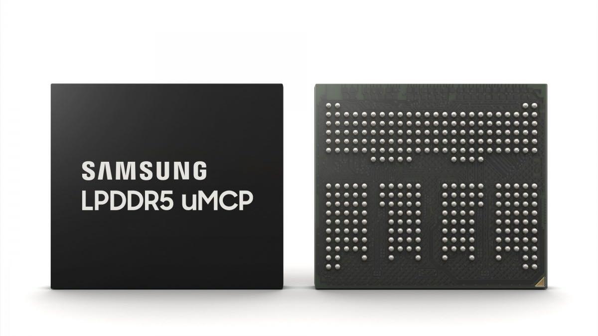 samsung chipset umcp memoria ram lpddr5 ufs 3.1 medio gamma 2