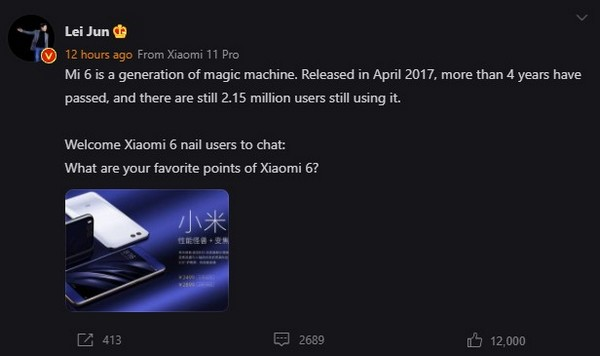 Xiaomi Mi 6 e OnePlus One
