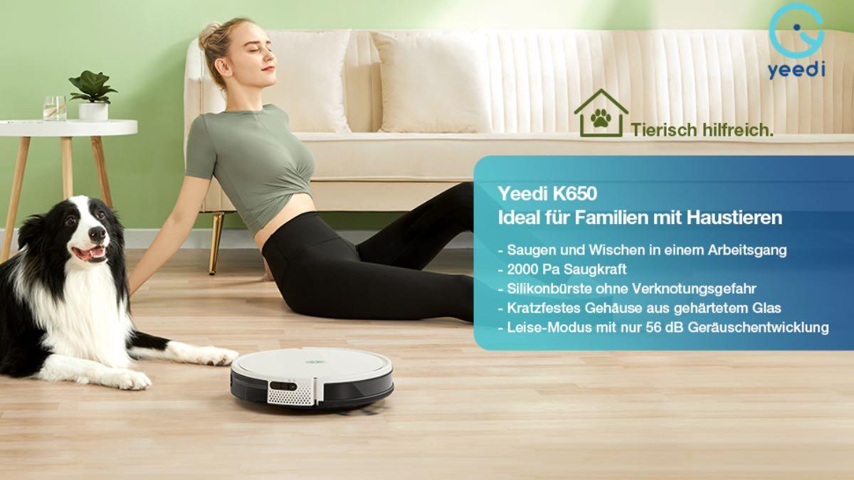 yeedi 2 hybrid k650 robot aspirapolvere prezzo codice sconto 2